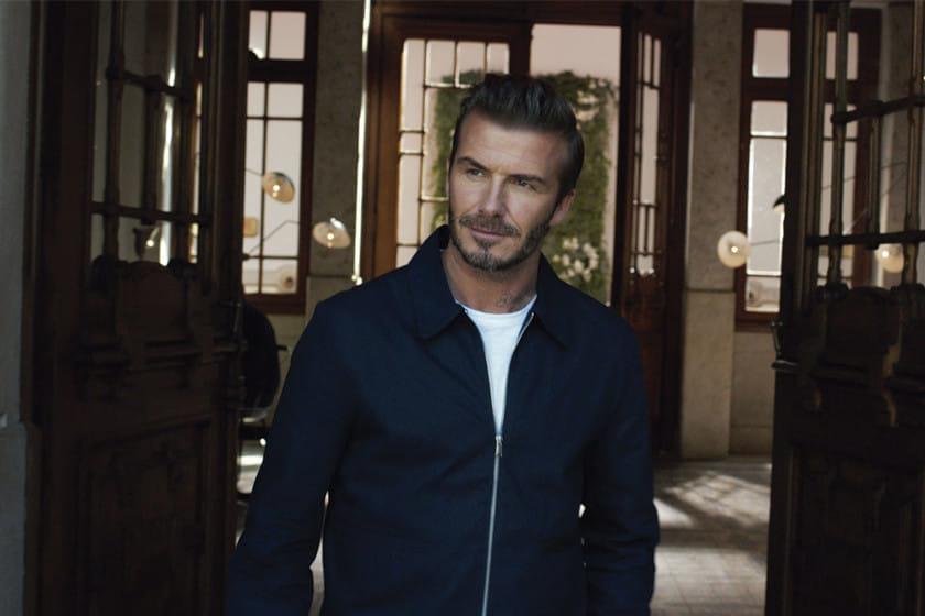 David Beckham va à l'essentiel