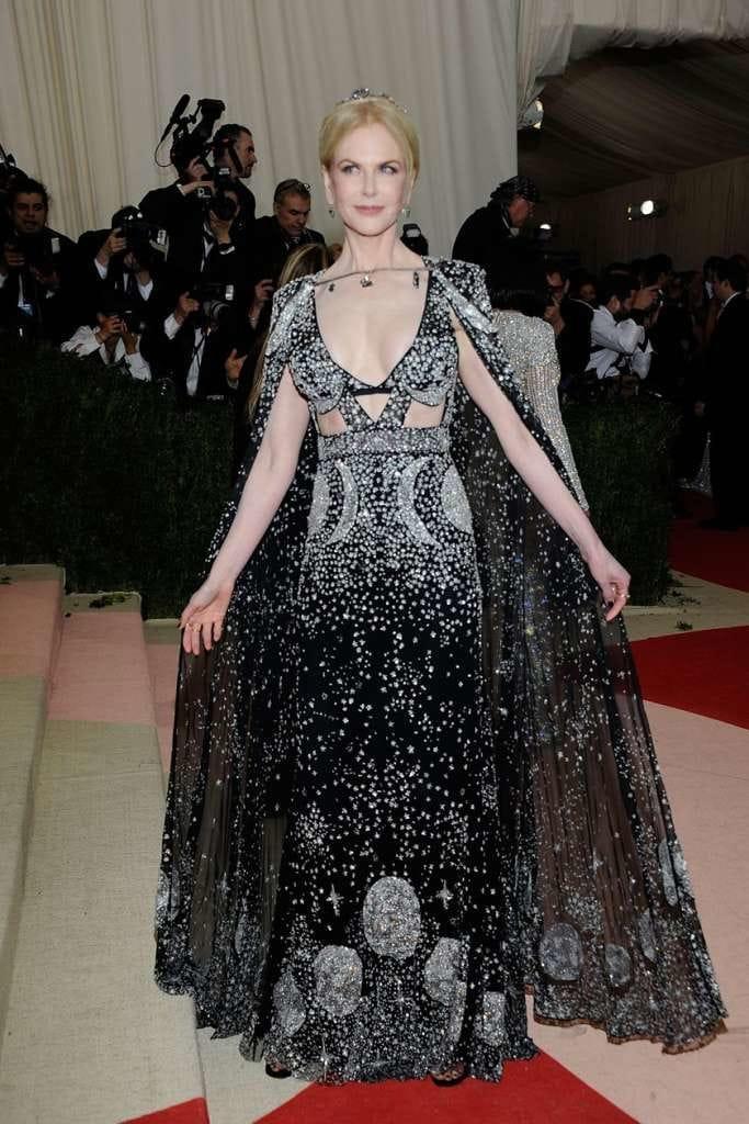 Nicole Kidman en Alexander McQueen
