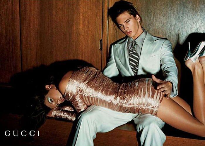 Campagne publicitaire Gucci par Tom Ford, SS 2003.