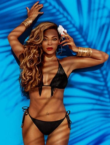 Beyonce pour H&M, égérie maillot de bain 2013.