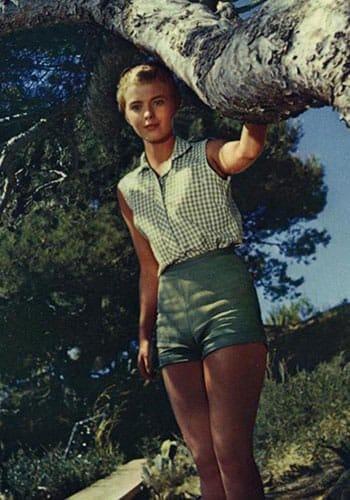 Jean Seberg 1958.
