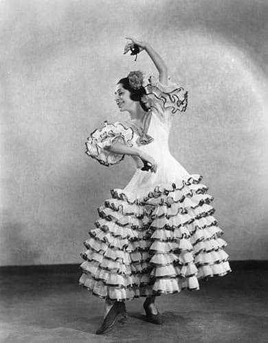 Une danseuse de flamenco en 1930.