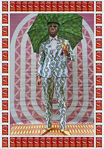 Afrikan Boy, 2012. Photo : 76,2 x 11,8 cm.