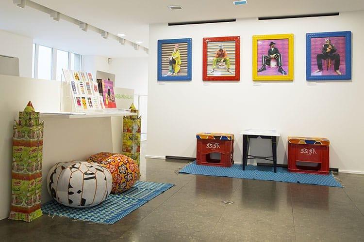 L'exposition de Hassan Hajjaj à la galerie Colette.