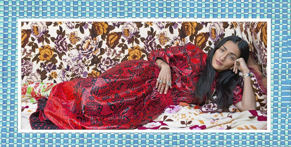 Hindi Odalisque, 2013. Photo : 147 x 62 cm.