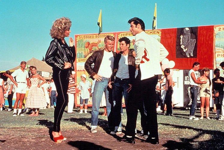 La Varsity Jacket est à l'honneur dans le film musical Grease en 1978.