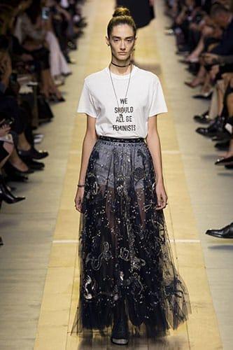 Dior Printemps-Été 2017.