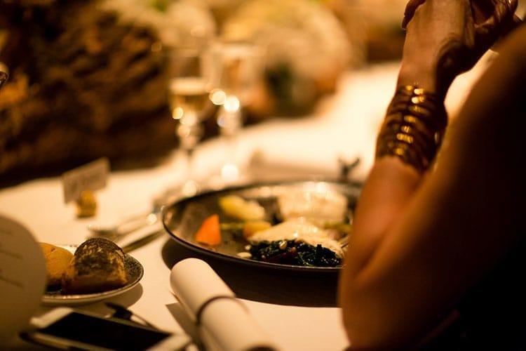 Dîner gastronomique orchestré par le chef Hicham Aouad.
