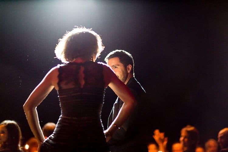 Danse improvisée entre Maître Ghita Andaloussi et Elad Yifrach de L'Objet.