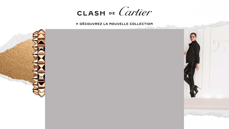 Habillage Campagne Clash de Cartier Septembre 2021