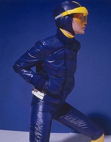 La doudoune dans les éditoriaux mode en 1967.