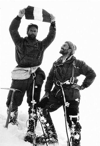 L'alpiniste français Lionnel Terray en 1964.