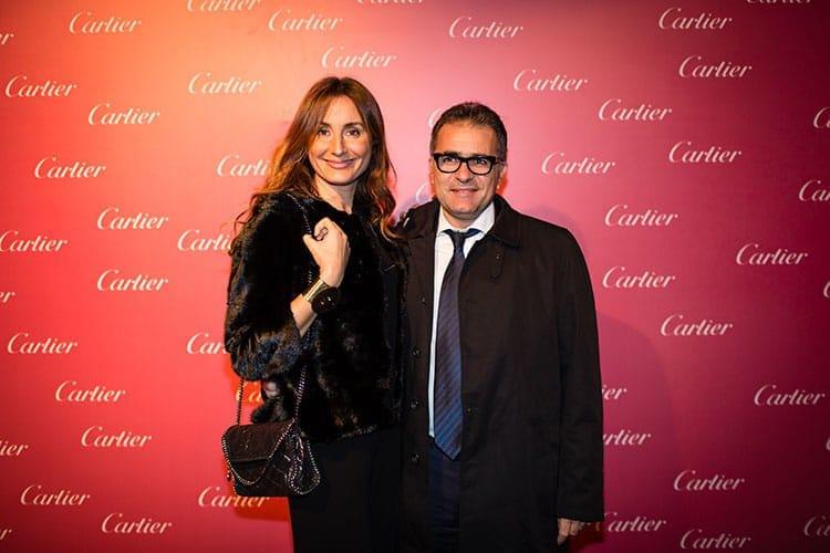 Houda Sefrioui de Daskalides et son époux Abdeslam Sijelmassi de Mifa Telecom.