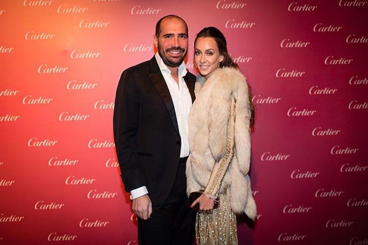 Elke Bardor et son époux Hamza Kabbaj de SGTM.
