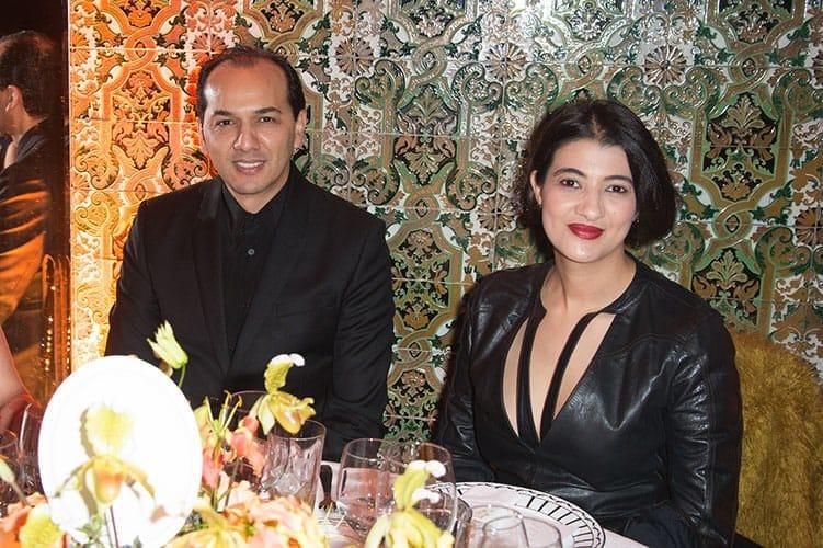 Majid El Ghazouani de Tasnime et sa sœur Lamia El Ghazouani, directrice artistique.