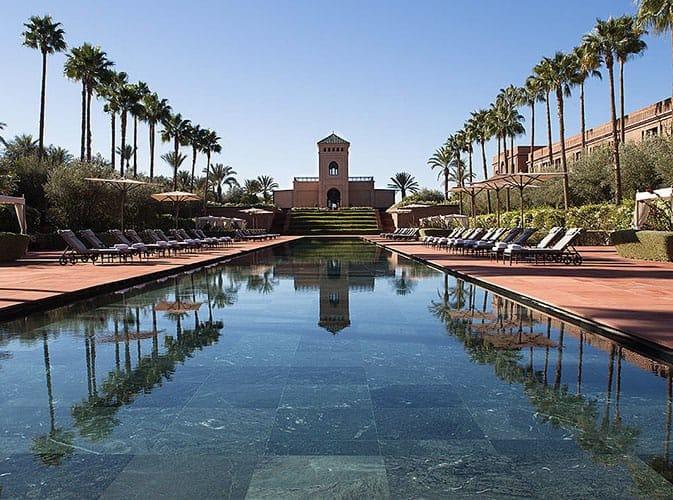 Les Cinq Plus Belles Piscines De Marrakech Shoelifer Com