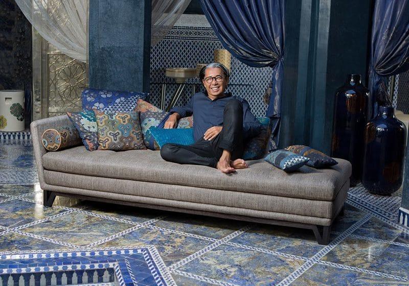interview kenzo takada raconte sa collab avec roche bobois. Black Bedroom Furniture Sets. Home Design Ideas